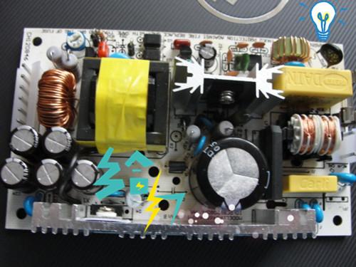 24V2A裸板开关电源P046S2