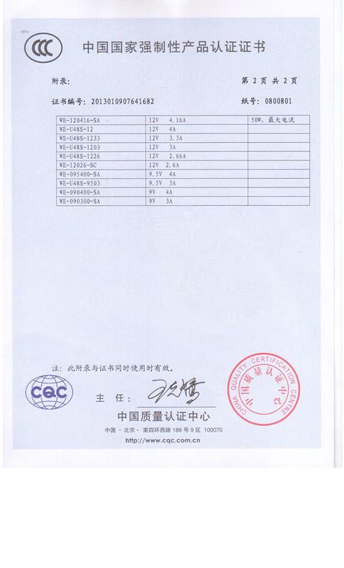 开关电源产品认证4