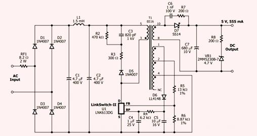 led开关电源常见的故障及维修检测方法
